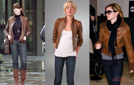 Vintage Brown Leather Jacket | Lauren Messiah