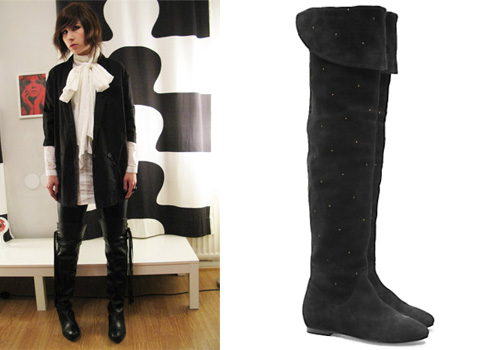 Wear Over The Knee Boots To Office