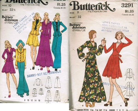 vintage betsey johnson pattern
