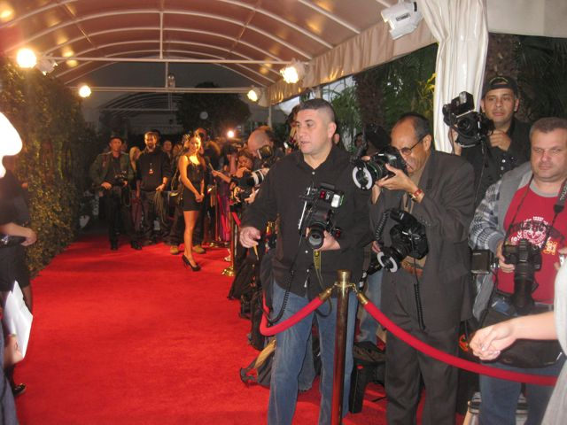 photogs on the qvc red carpet