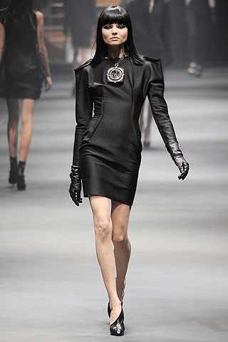 lanvin runway dress