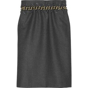 chloe chain waist skirt