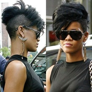 My new accidental haircut lauren messiah rihanna mohawk haircut5b25d winobraniefo Choice Image