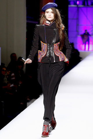 Jean Paul Gaultier embroidered jacket