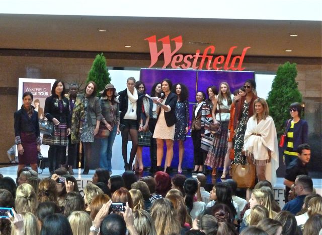stacy london fashion show at westfield