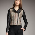 Deal of the Day: Theory Tweed & Leather Moto Jacket