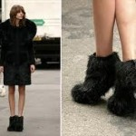 Chanel Fantasy Fur Booties