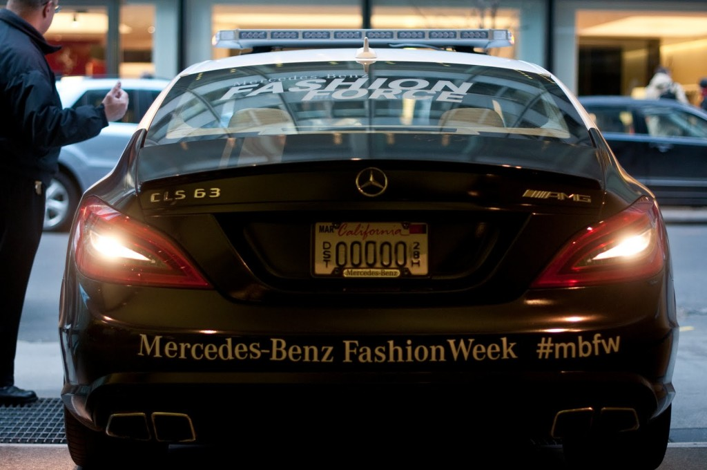The royal nyfw treatment with american express lauren for Amex mercedes benz