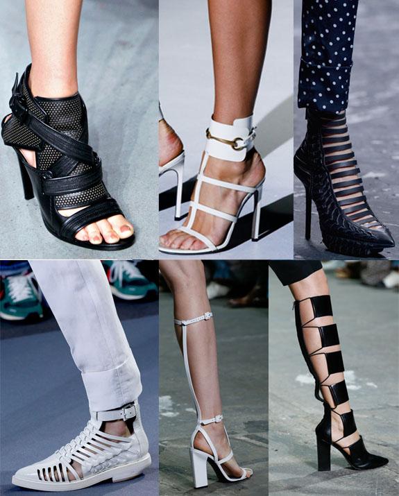 runway gladiator shoes