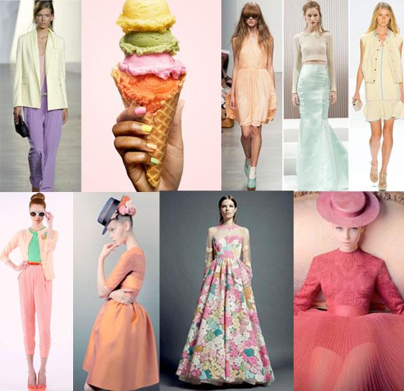 spring 2013 sorbet trend