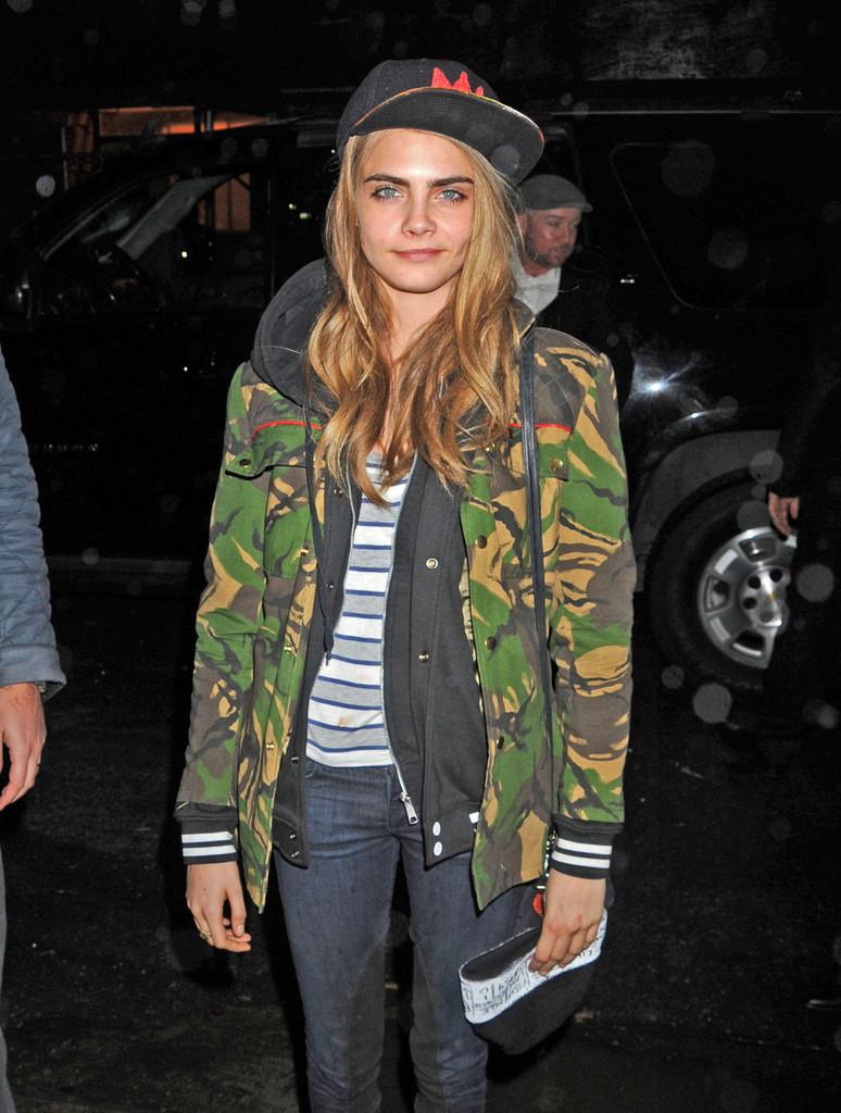 Style Icon Cara Delevingne Lauren Messiah