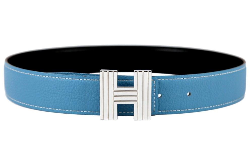 hermes blue belt