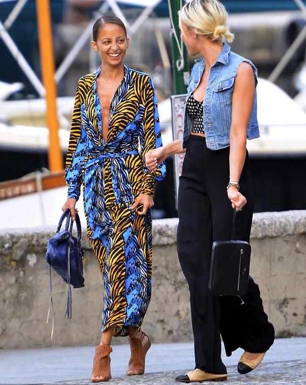 nicole-richie-portofino-issa-london-dress