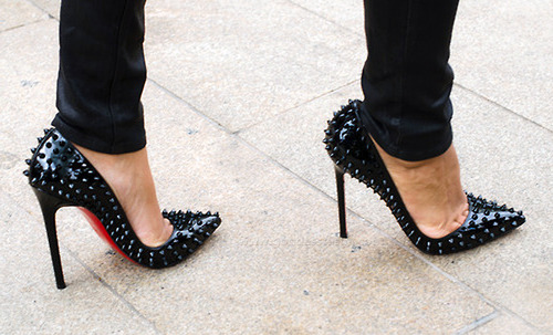 Deal of the Day: Spiked Christian Louboutins | Lauren Messiah