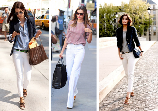 White Jeans for Every Body Type | Lauren Messiah