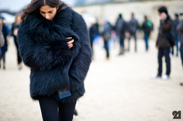 How to Stylishly Wear Faux Fur | Lauren Messiah