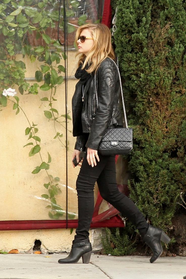 Chloe moretz street style 2013