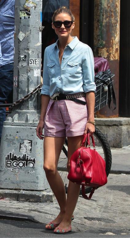 olivia palermo shorts