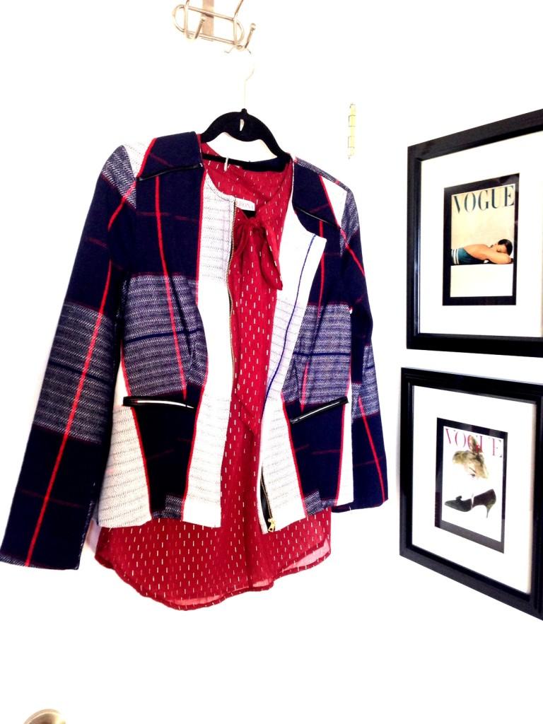 target plaid jacket