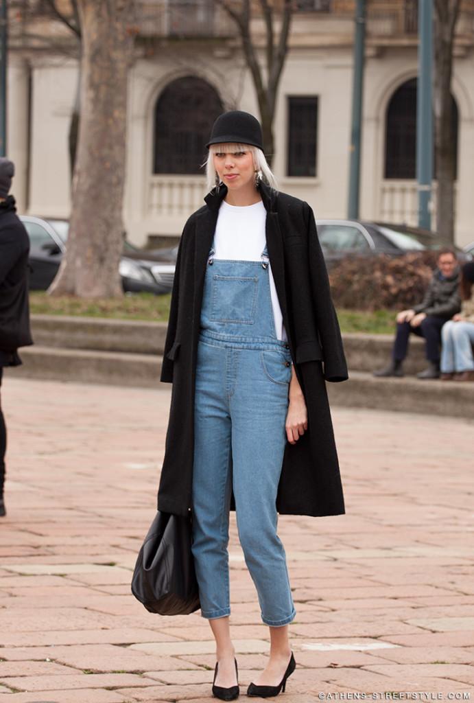 Street Style: Denim Overalls