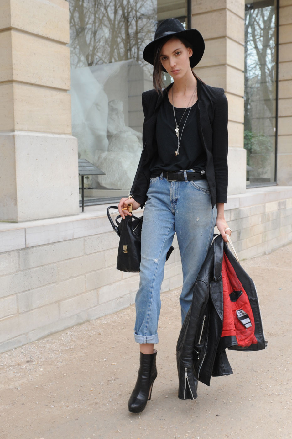 10 Ways To Wear Boyfriend Jeans Lauren Messiah
