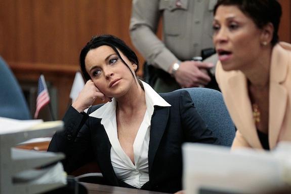 Lindsay Lohan Probation Status Hearing