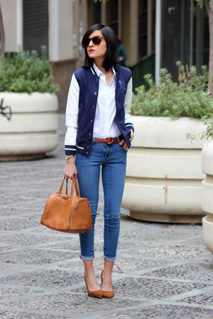 10 Ways to Wear a Varsity Jacket
