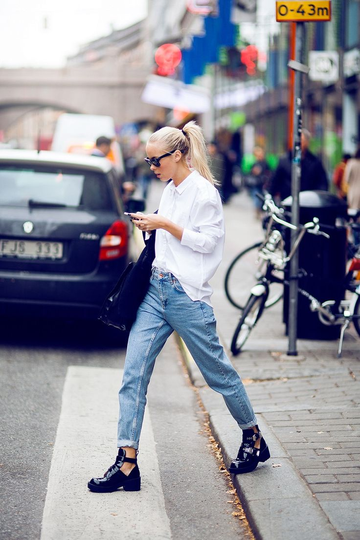 10 Ways To Wear A White Button-Up Shirt