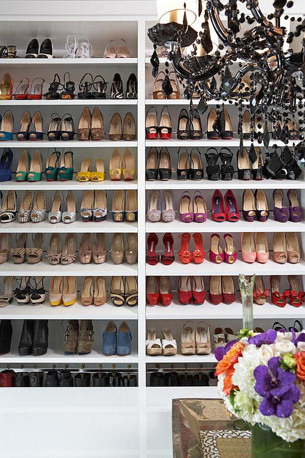 stylish-shoe-storage-on-shelves