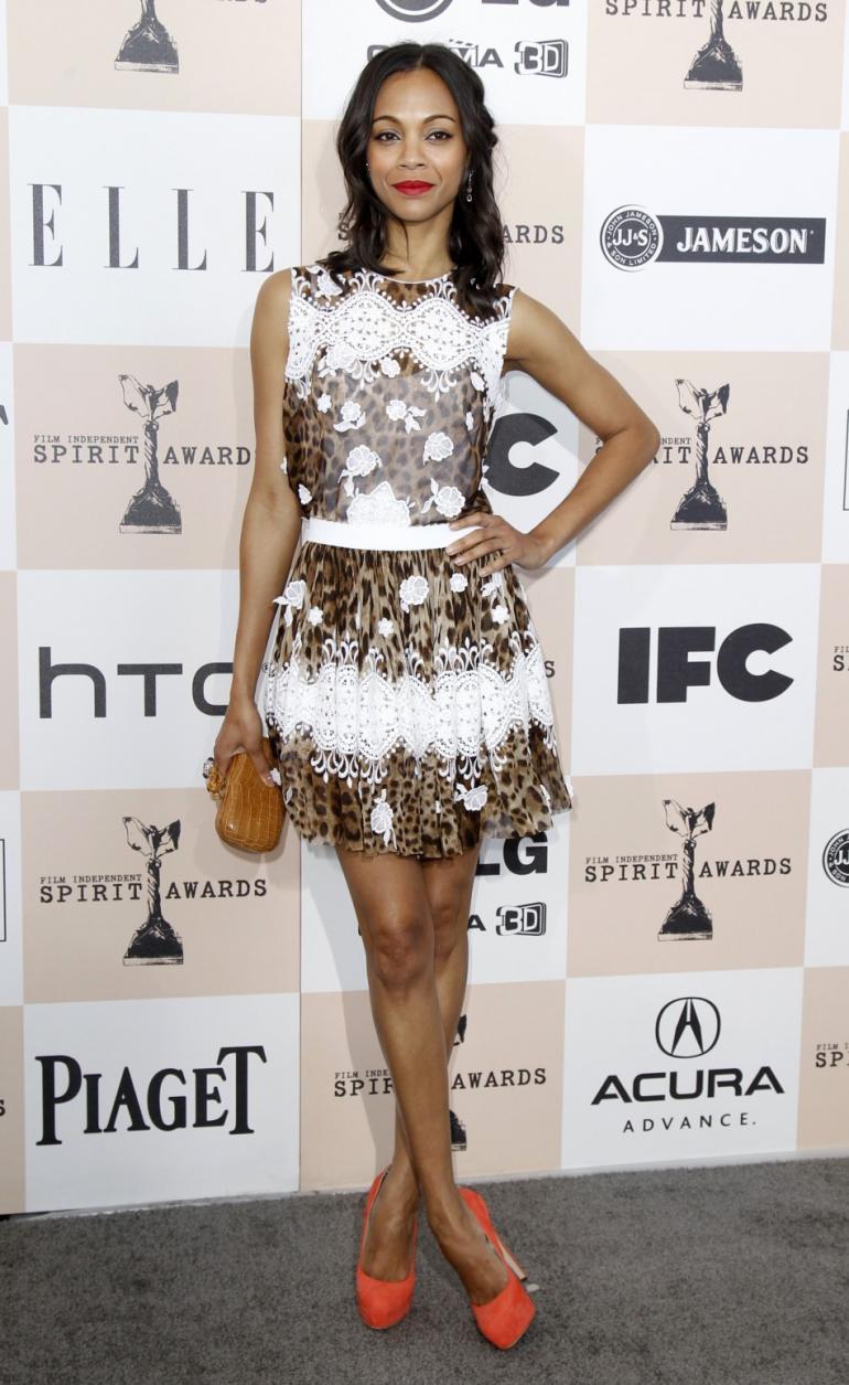 Style Profile Zoe Saldana Lauren Messiah