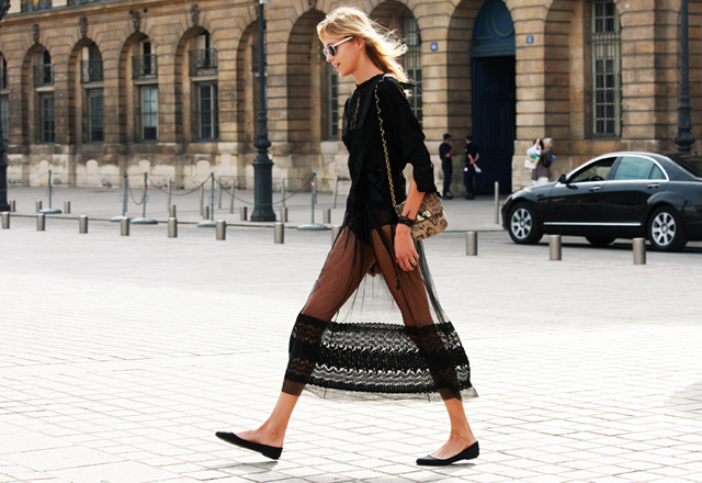 10 Ways to Wear Mesh