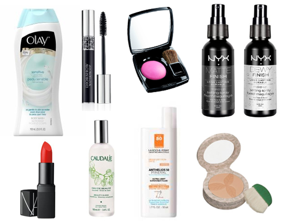 winter to spring beauty products