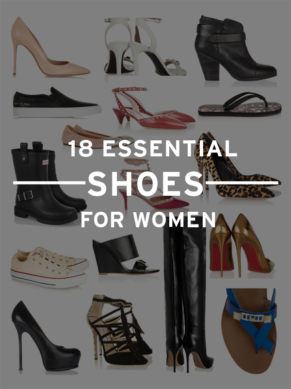 18 essential shoes for women