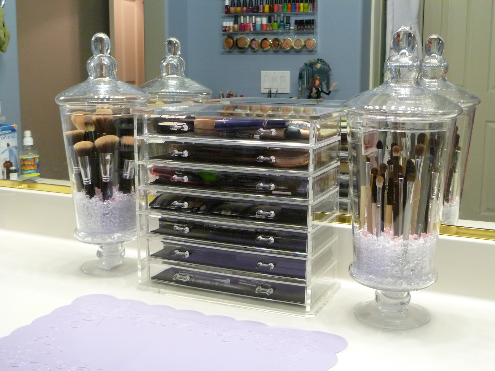 7 Creative Ways To Store Your Cosmetics Lauren Messiah