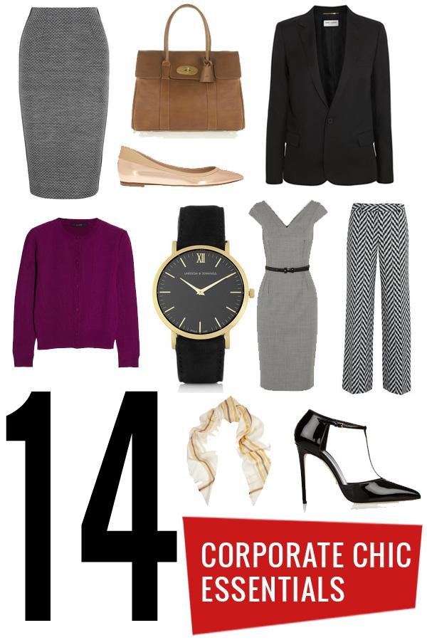 corporate clothing essentials
