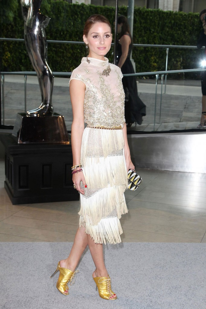 OLIVIA PALERMO at CFDA Fashion Awards