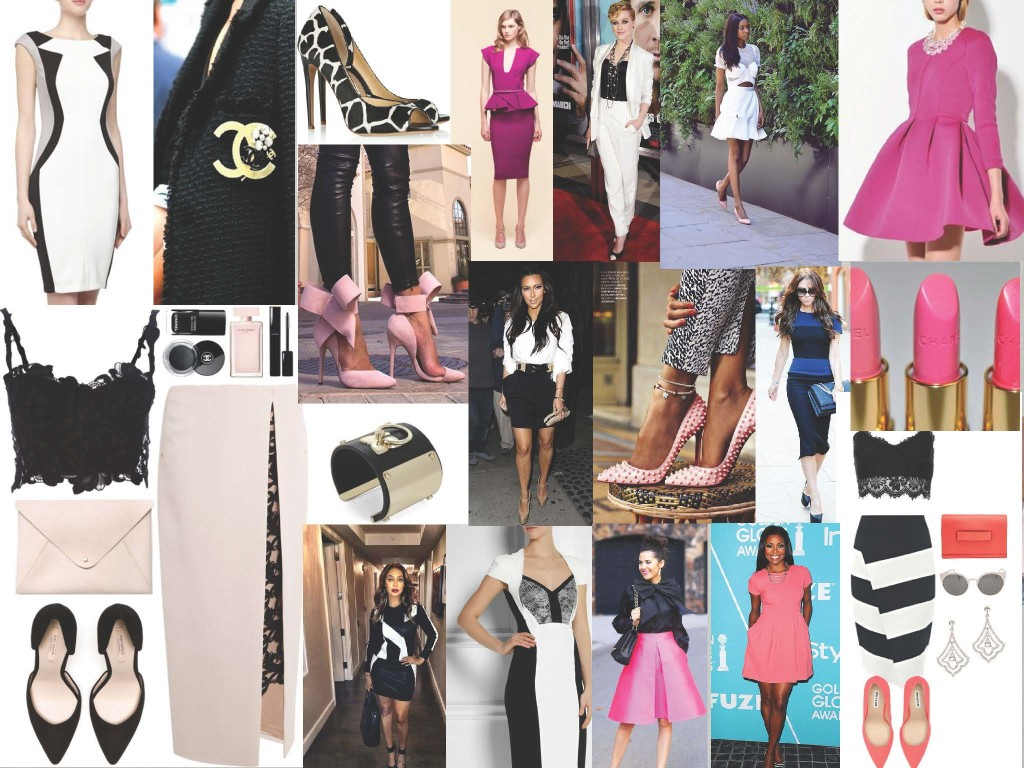 Pink Mood Boards