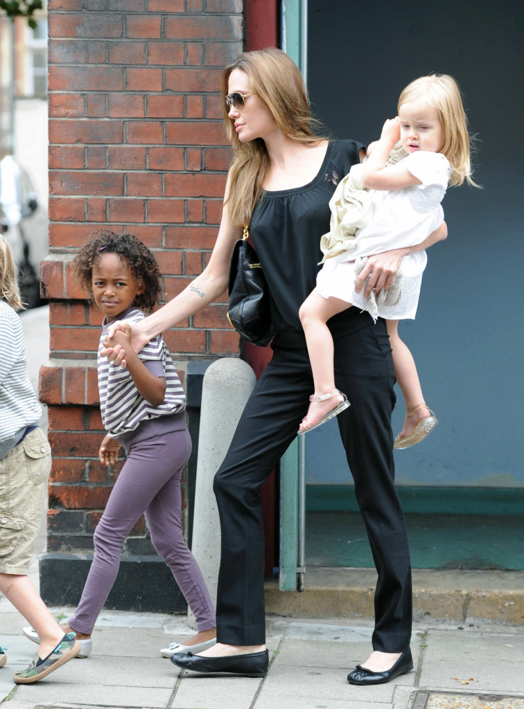 Brad Pitt and Angelina Jolie Took Brood To The Cinema