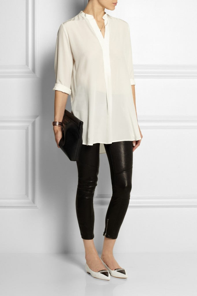How To Dress Up Leggings And A Tunic Lauren Messiah