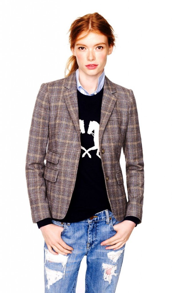 English-Women-Tweed-Blazer-2013-Fashion-Style-Design