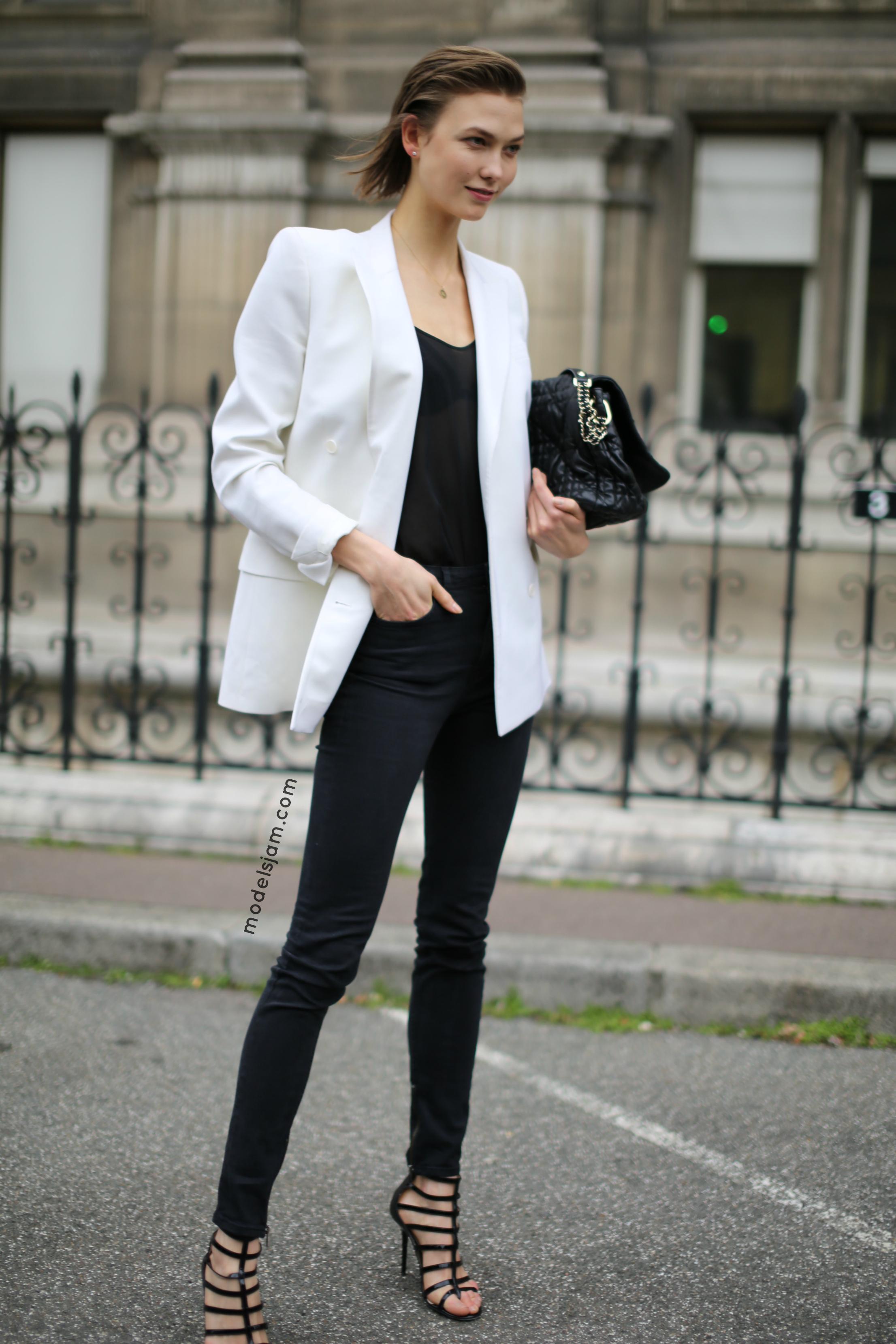 10 Ways to Wear a White Blazer   Lauren Messiah