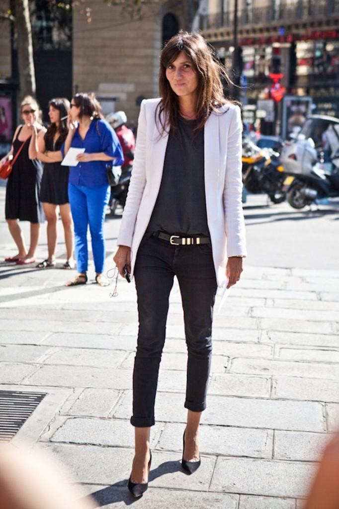 Paris Fashion Week September 2011, Emmanuelle Alt