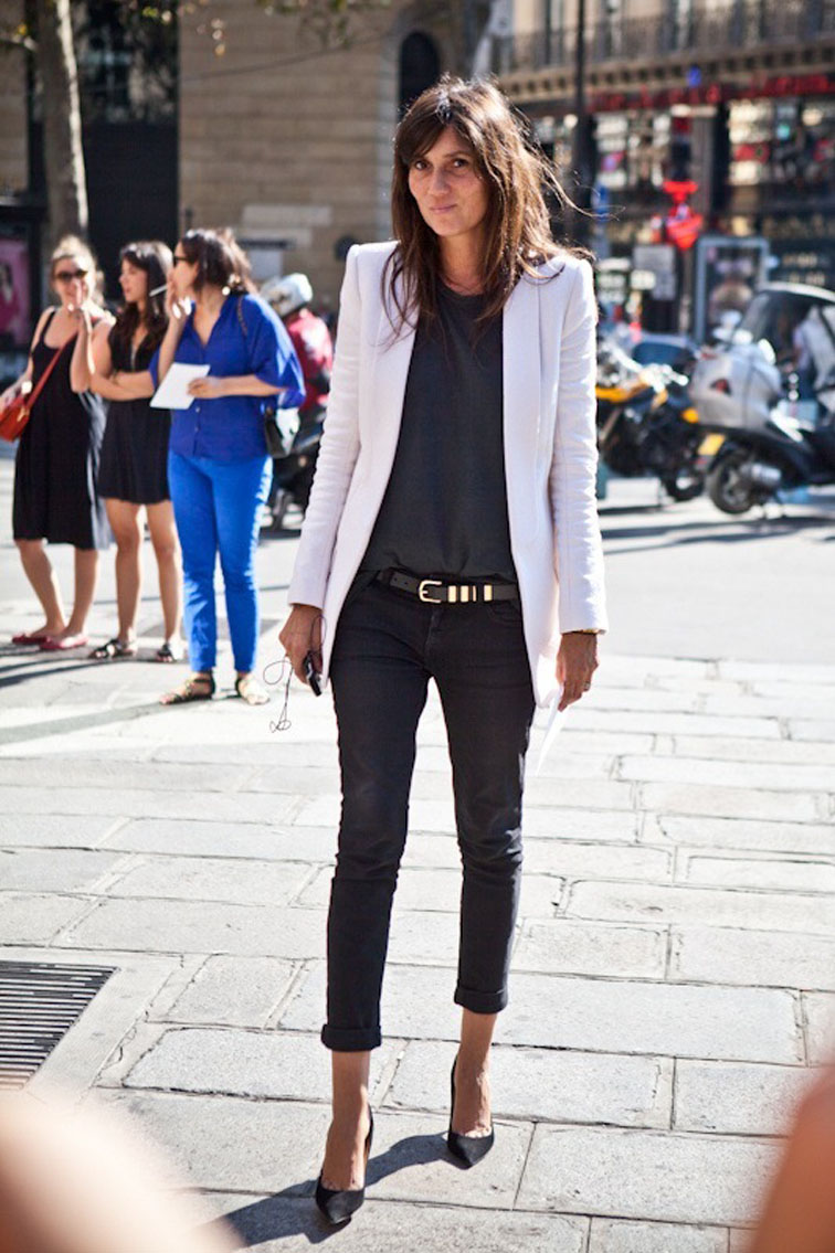 10 Ways to Wear a White Blazer | Lauren Messiah