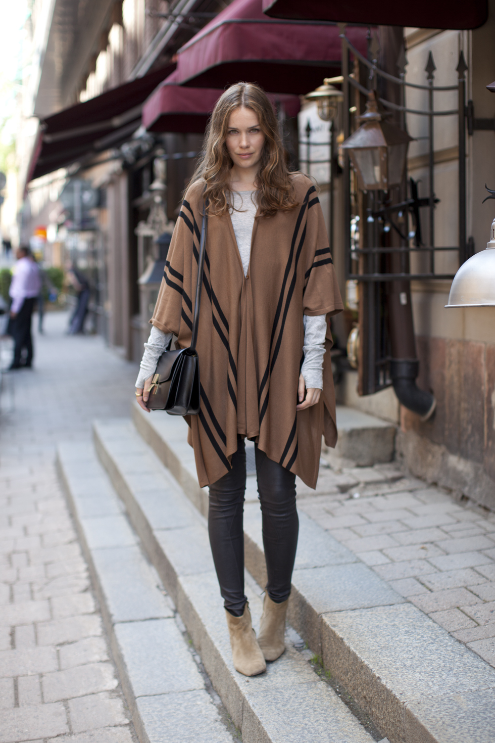 10 ways to wear a poncho lauren messiah