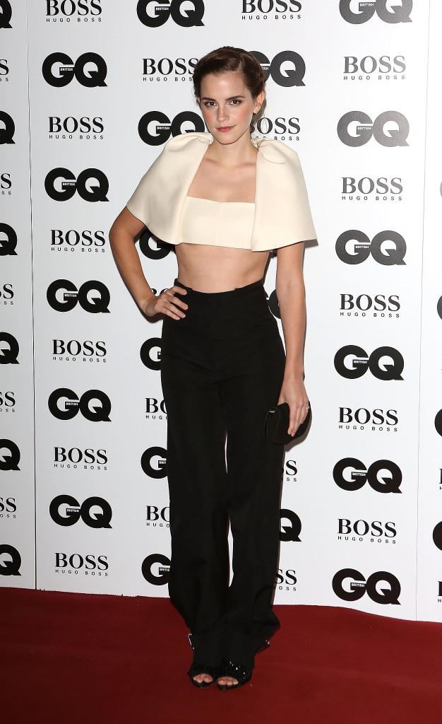 Emma-Watson-walked-red-carpet-GQ-Men-Year-Awards