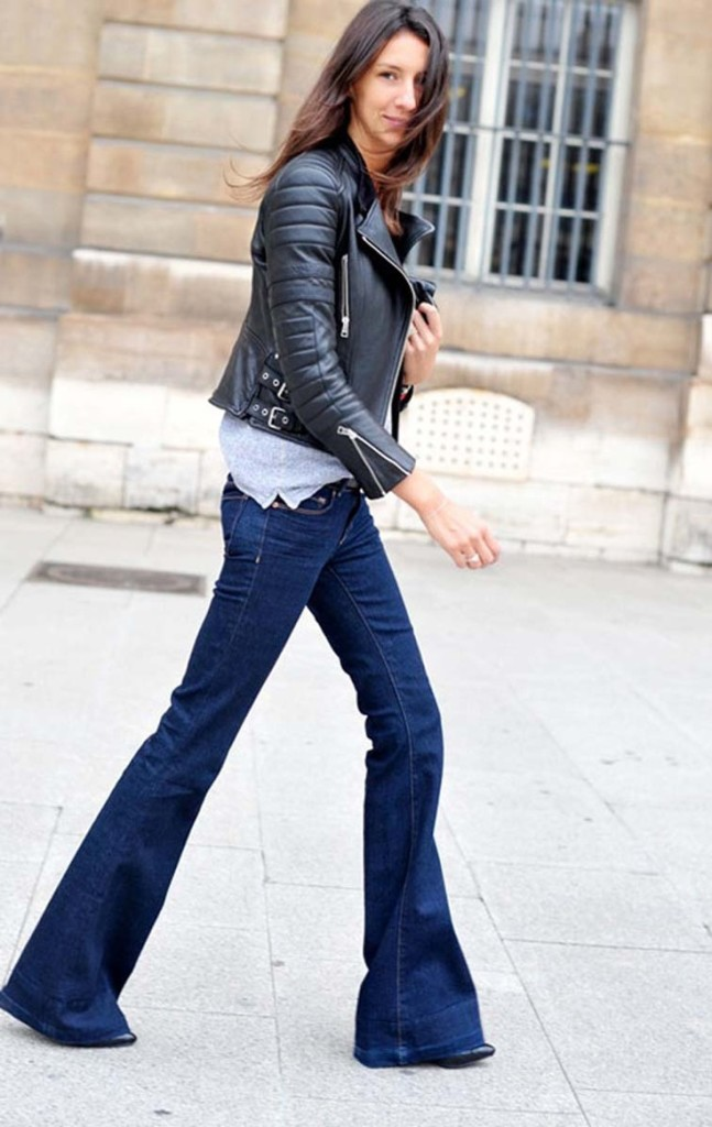 flares street style jeans