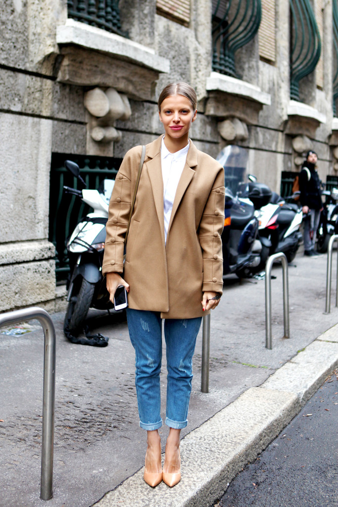 street style nude pumps