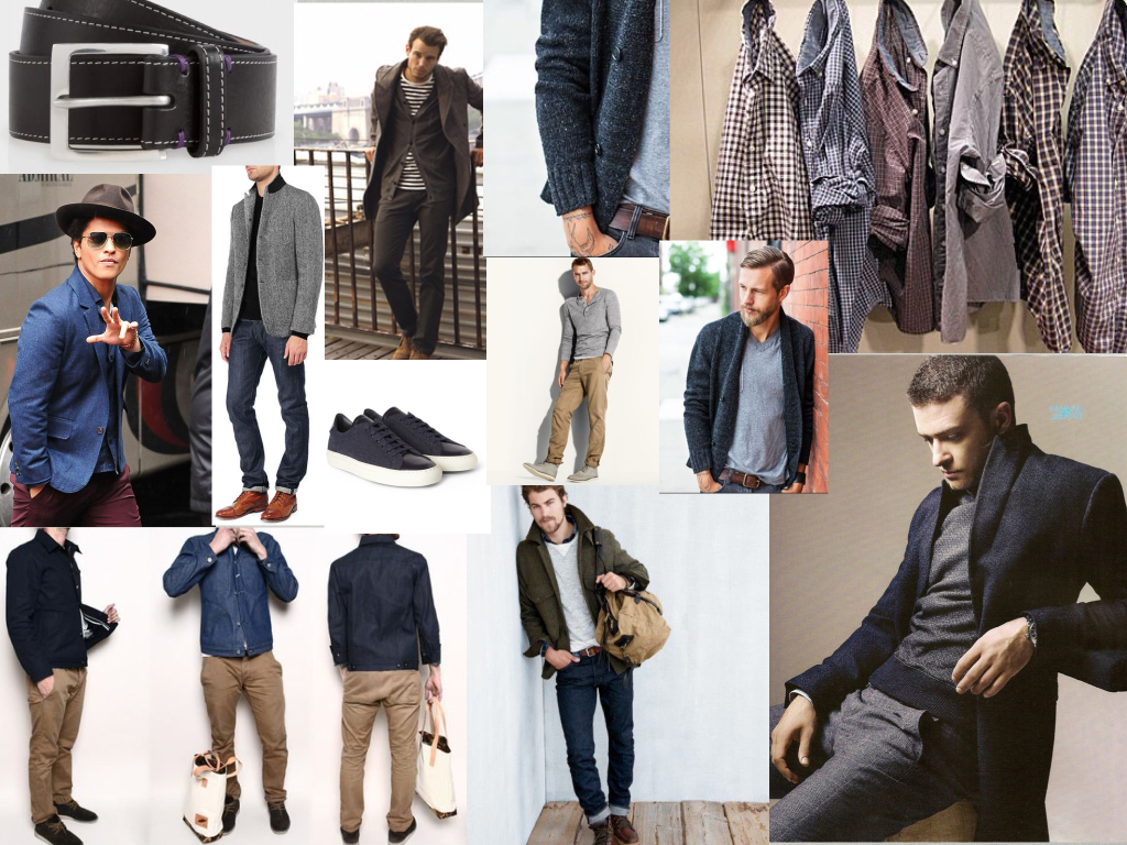mens mood board personal styling
