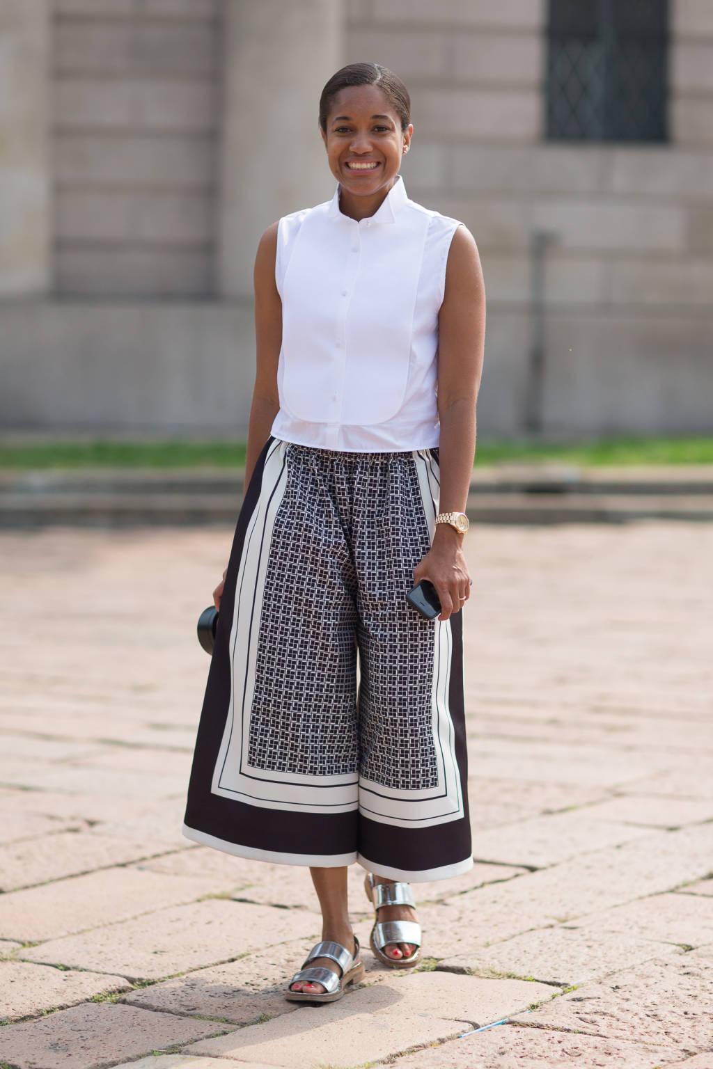 10 Ways To Wear Culottes Lauren Messiah