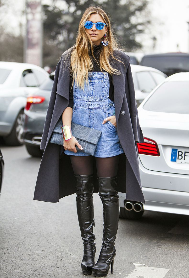10 Ways To Wear Short Overalls
